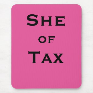 She of Tax Female Tax Accountant Tax Preparer