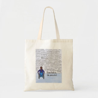 She Persisted (Wheelchair) Tote Bag