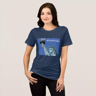 She Persists - Statue of Liberty Shirt