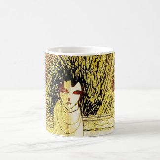 she radiates basic white mug