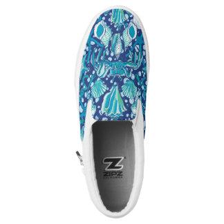 She Sells Sea Shells Crab Design Slip On Shoes