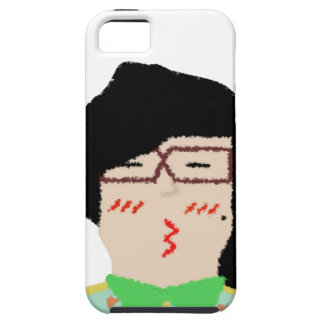 she to hispter to lover funny cartoon case for the iPhone 5