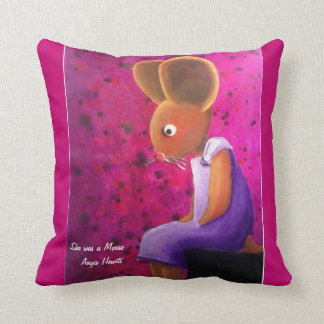 She was a Mouse Cushion by Angie Hewitt