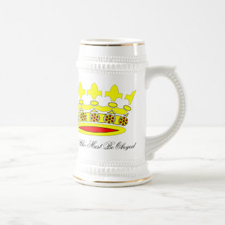 She Who Must Be Obeyed Beer Stein