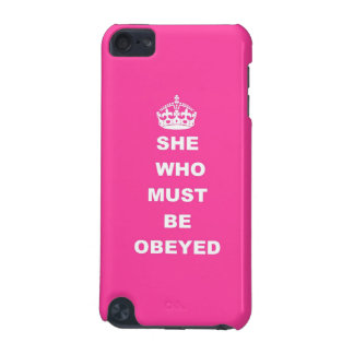 She who must be obeyed iPod touch (5th generation) covers
