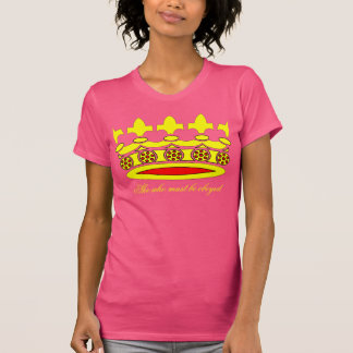 She Who Must Be Obeyed Tee Shirts