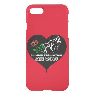 She Wolf Lady Rider Custom iPhone 8/7 Case