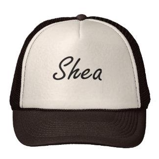 Shea artistic Name Design Cap