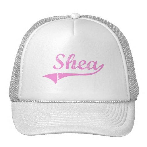 Shea Classic Style Name Hats