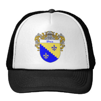 Shea Coat of Arms (Mantled) Trucker Hats