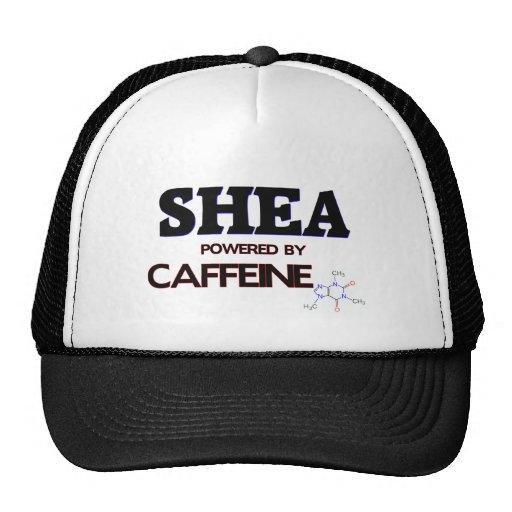 Shea powered by caffeine mesh hats