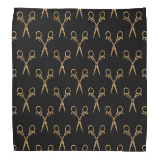 Shears (gold) bandana