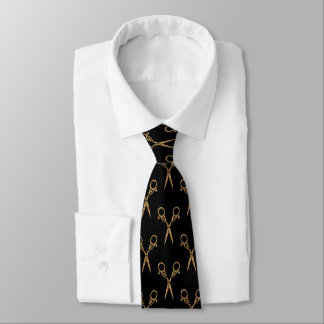 Shears (gold) tie