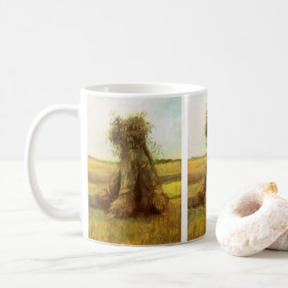 Sheaves of Wheat by Vincent van Gogh Coffee Mug