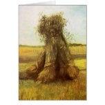 Sheaves of Wheat by Vincent van Gogh Greeting Card
