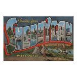 Sheboygan, Wisconsin (Indians # 1) Print