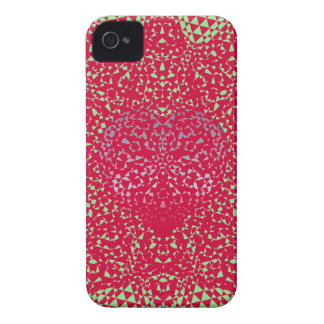 SheckShe.com Spicy Red Customize Green Blue Heart iPhone 4 Cover