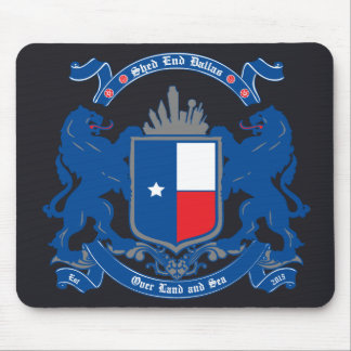 Shed End Dallas Mouse Pad