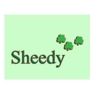 Sheedy Family Postcard