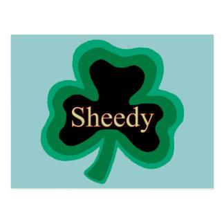 Sheedy Irish Postcard