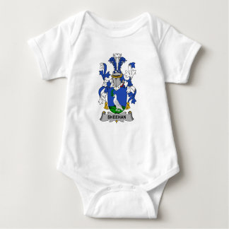 Sheehan Family Crest Baby Bodysuit