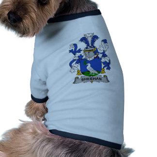 Sheehan Family Crest Dog Tshirt