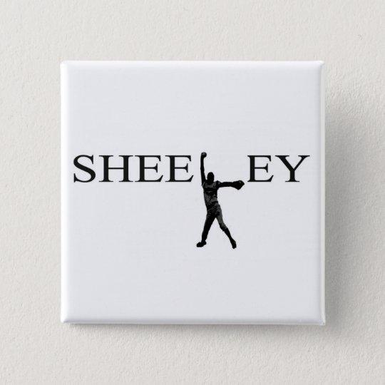 Sheeley buton 15 cm square badge