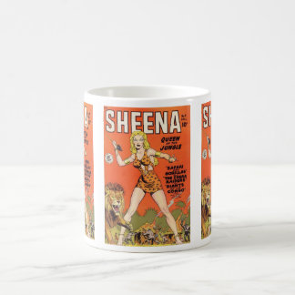 Sheena: Jungle Woman Comic book Classic White Coffee Mug