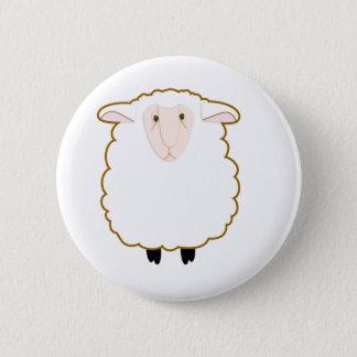 Sheep 6 Cm Round Badge