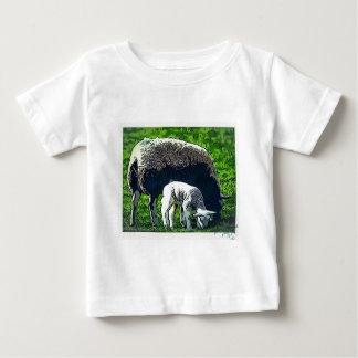 Sheep and lamb cartoon baby T-Shirt