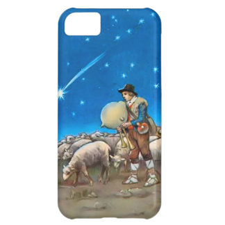 Sheep and shepherd iPhone 5C case