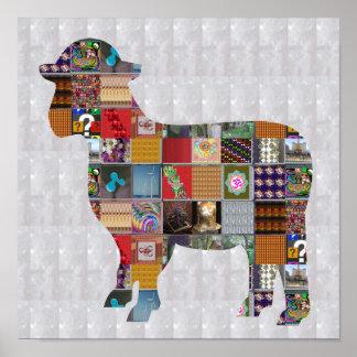 SHEEP animal farm wool  KIDS FUN LOWprice NVN526 Poster