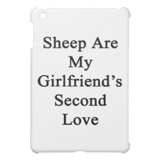Sheep Are My Girlfriend's Second Love Case For The iPad Mini