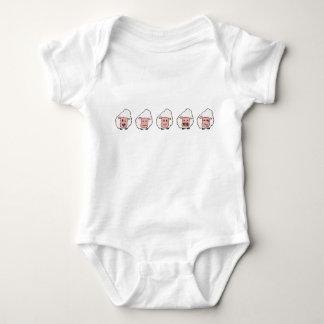 Sheep baby baby bodysuit
