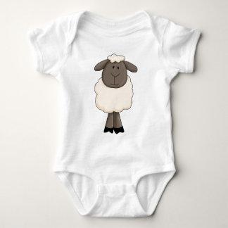 Sheep Baby Bodysuit