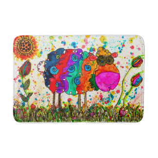 Sheep Bath Mat