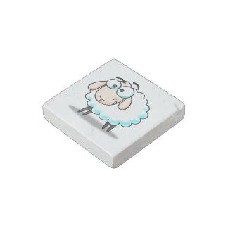 Sheep cartoon stone magnet