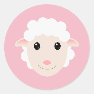 Sheep Classic Round Sticker