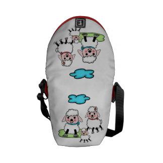 sheep commuter bag