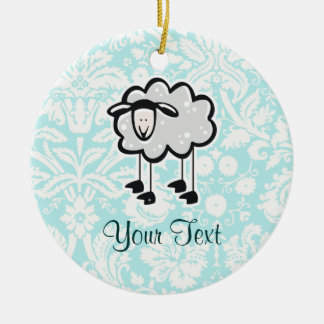 Sheep; Cute Christmas Ornament