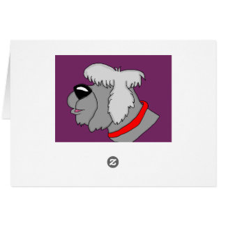 Sheep dog cards and paper products