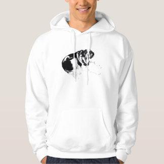 sheep dog hoodie