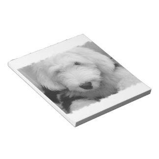 Sheep Dog  Notepad