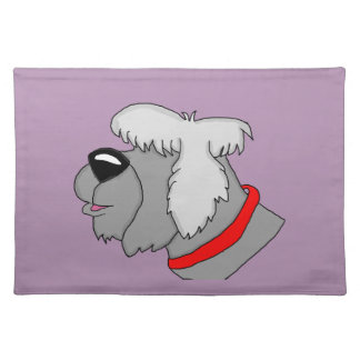 Sheep dog placemat