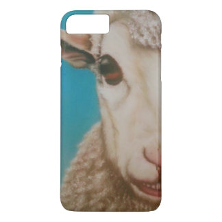 Sheep face phone case