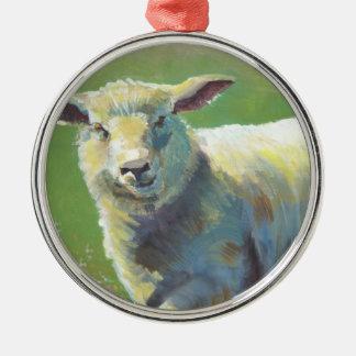 Sheep Farm Animal Christmas tree ornament