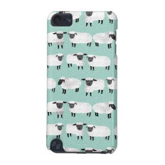 Sheep Farm Animal Sleep Pastel Mint /Andrea Lauren iPod Touch 5G Cover
