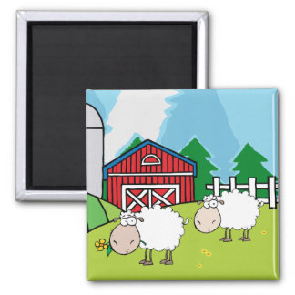 Sheep Farm Magnet