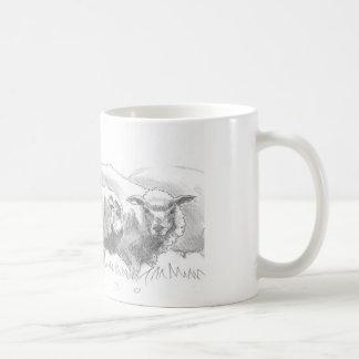 Sheep Flock Drawing Mugs