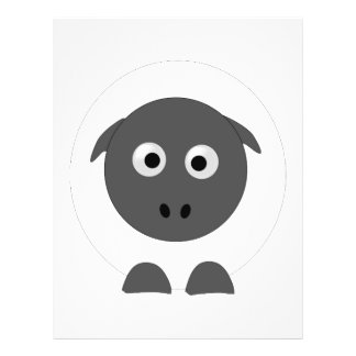 Sheep 21.5 Cm X 28 Cm Flyer
